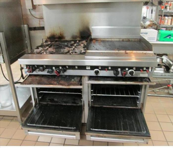Kitchen Stove Fire: SERVPRO Of Haines City / Polk City Gallery Photos